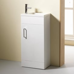 400mm Slimline Base Unit & Basin