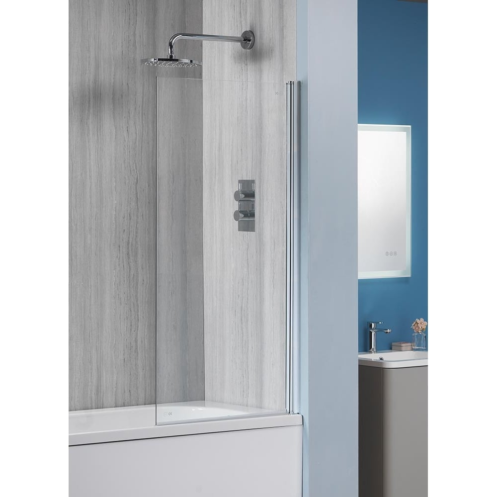 Alpha 6mm Square Bath Screen - 1360 x 800mm - Alpha from Amazing ...