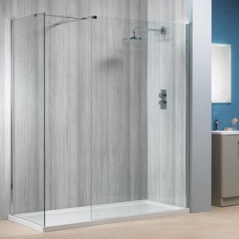 Alpha 6mm Walk-In Panels with Easy-Clean Glass