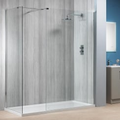 6mm Walk-In Panels with Easy-Clean Glass