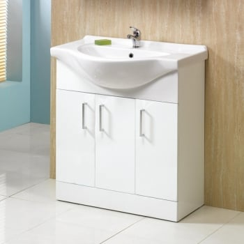 Alpha 750mm Base Unit & Basin