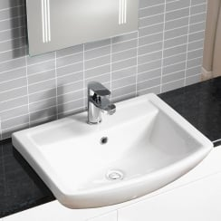 Eden 550 x 430mm Semi-Recessed Basin