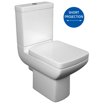 Alpha Eden WC including Soft Close Seat