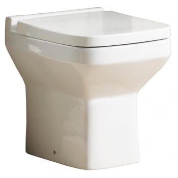 Alpha Nevada Back-to-Wall Pan & Soft Close Seat