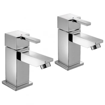 Alpha Nevada Bath Taps (Pair)