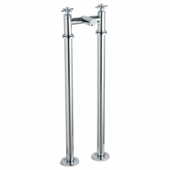Trio Cross-Head Bath Filler with Tap Legs (2 Hole)