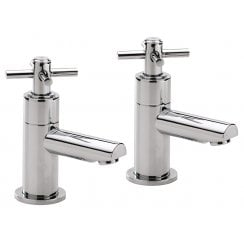 Trio Cross-Head Bath Taps (Pair)