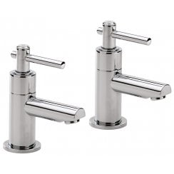 Trio Lever-Head Bath Taps (Pair)