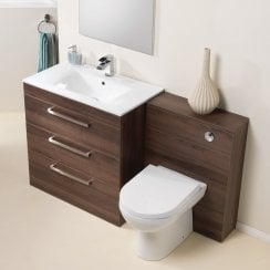 Aston 600 & 800mm Base Unit & Basin Only