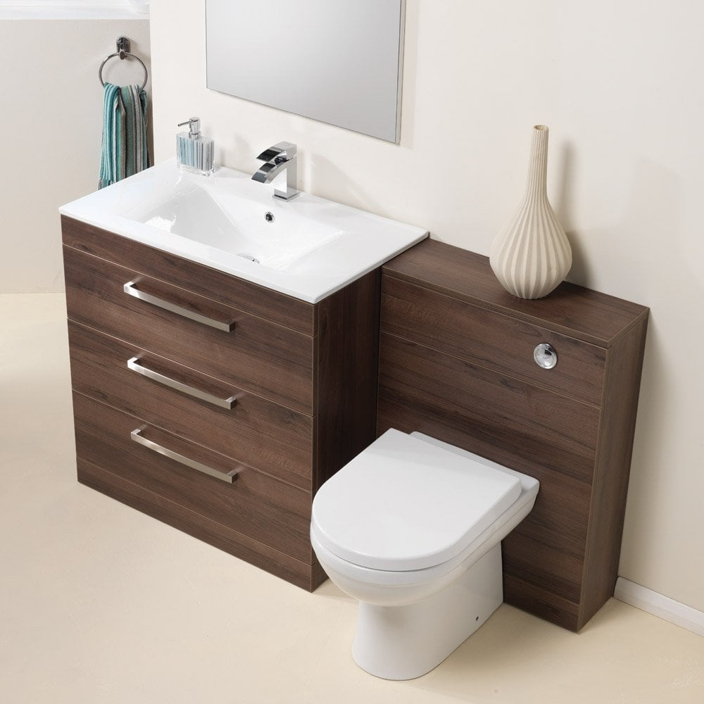 Ascent Furniture Aston 600 & 800mm Base Unit, Basin & WC ...