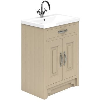 Ascent Furniture Grosvenor 2-door Base Unit & Basin - 600 to 800mm