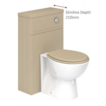 Ascent Furniture Grosvenor 500mm Slimline WC Base Unit