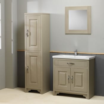 Ascent Furniture Grosvenor Basin & Base Unit with Column - 600 to 800mm