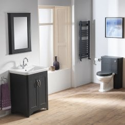 Rimini 60 Base Unit & Basin with WC Unit & Column Options