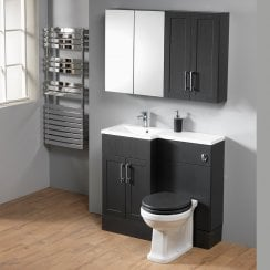 Ritz 100 Combination with Square 1-Piece Basin