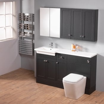 Ascent Furniture Ritz 150 Combination with Square 1-Piece Basin*