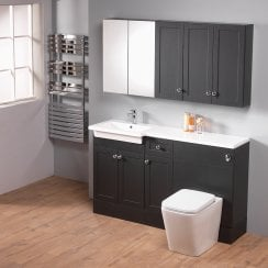Ritz 150 Combination with Square 1-Piece Basin