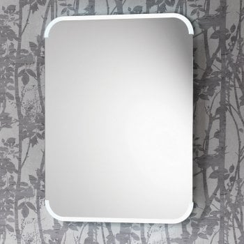Ascent Mirrors Aston Mirror with Integrated Side Lights, Anti-Mist Pad & Sensor Switch - 2 Size Options*