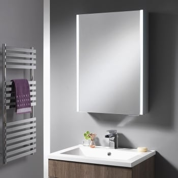 Ascent Mirrors Calvus Mirrored Cabinet - 500mm, 800mm & 1200mm