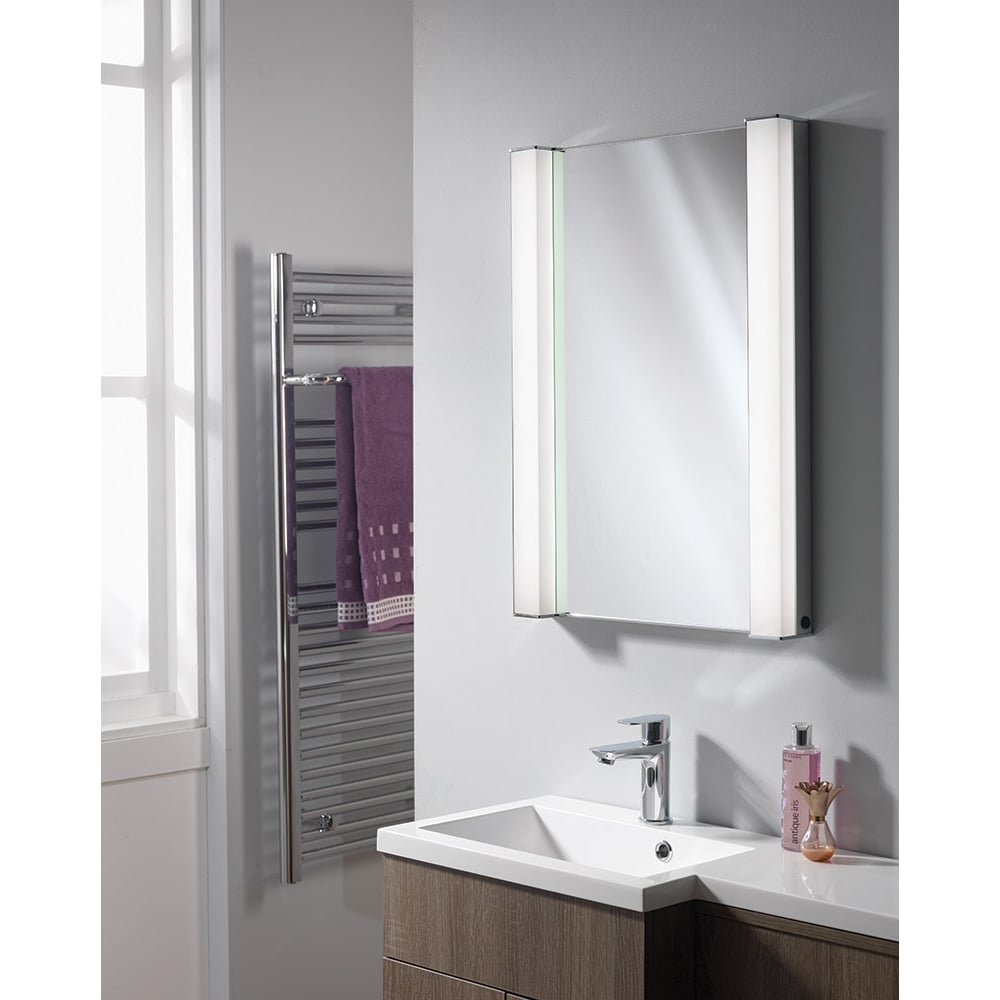 Ascent Mirrors Incus 500 X 700 X 156mm Recessed Mirrored