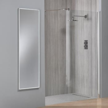Ascent Mirrors Nevada Full Length Mirror with Integrated LED Light Strip - 1200mm & 1500mm