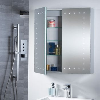 Ascent Mirrors Pileus 600 x 650 x 140mm Mirrored Cabinet*