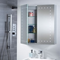 Pileus 600 x 650 x 140mm Mirrored Cabinet
