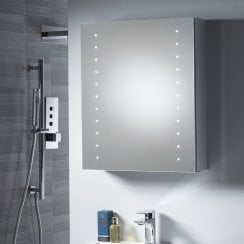 Stratus 500 x 600 x 140mm Mirrored Cabinet