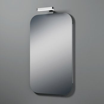 Ascent Mirrors Urban Mirror with Light Fitting - 2 Size Options*