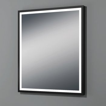 Ascent Mirrors Utah Mirror with Black Frame - 2 Size Options*