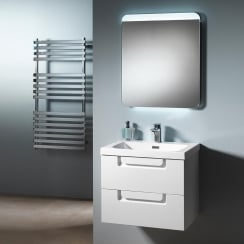 Genoa 60 Wall-Hung Base Unit & Basin