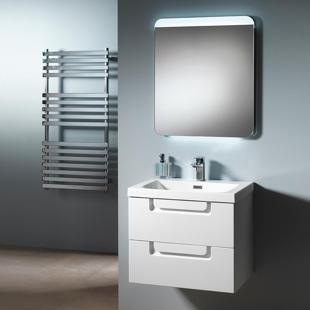 Ascent Premier Genoa Wall-Hung Base Unit & Basin - Ascent Premier ...