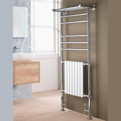 Venice Traditional Rail with Towel Shelf