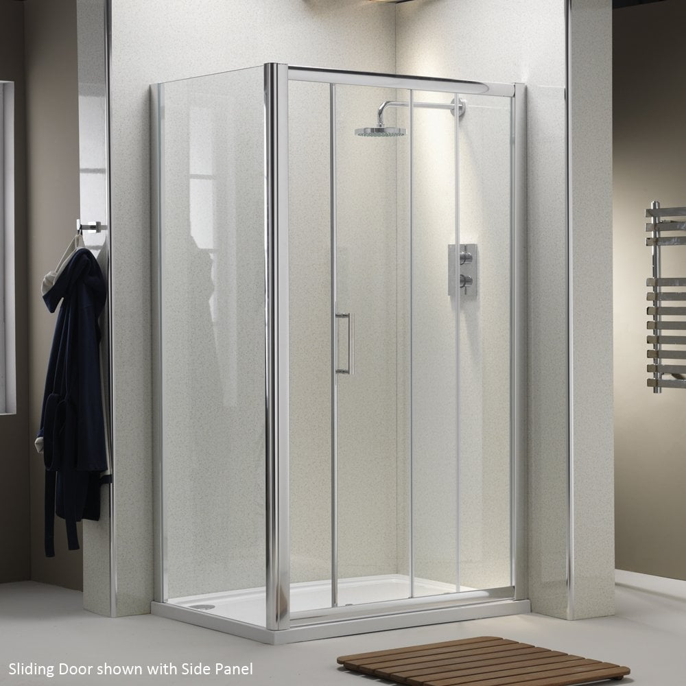 Ascent Showering 8mm Sliding Doors With Easy-Clean Glass