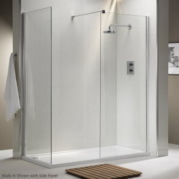 Ascent Showering 8mm Walk-In Panels with Easy-Clean Glass