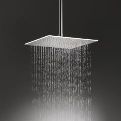 Nevada Large Square Shower Head & Ceiling Arm