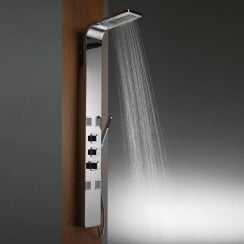 Nevada Shower Column with Rainfall Head, BodyJets & Shower Kit