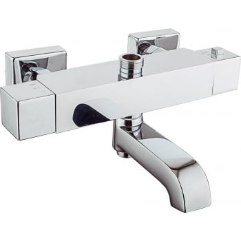Ascent Showering Nevada Square Thermostatic Bath Shower Mixer