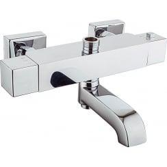 Nevada Square Thermostatic Bath Shower Mixer
