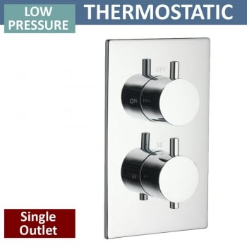 Ascent Showering Ohio Twin Thermostatic Shower Valve with 1 Outlet (controls 1 function)