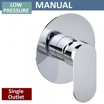 Ascent Showering Opal Manual Shower Valve - 1 Outlet (controls 1 function)