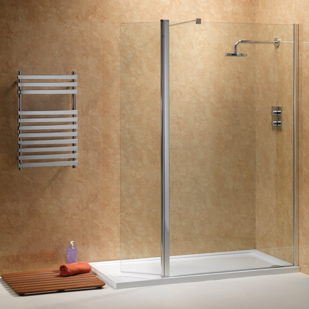 Ascent Showering Walk-In with Rotating Deflector Panels with Easy ...