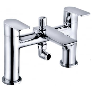 Ascent Taps Charlotte Bath Shower Mixer & Kit (2 Hole)