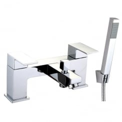 Grosvenor Bath Shower Mixer & Kit (2 Hole)
