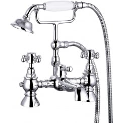 Nostalgic Bath Shower Mixer & Kit (2 hole)