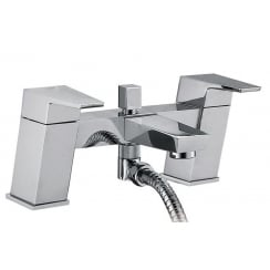 Verona Bath Shower Mixer & Kit (2 Hole)