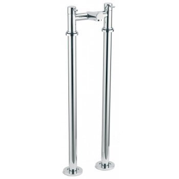Ascot Ohio Bath Filler with Tap Legs (2 Hole)
