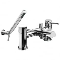 Ohio Bath Shower Mixer & Kit (2 Hole)