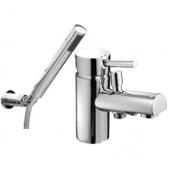 Ohio Bath Shower Mixer & Kit (Single Hole)