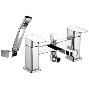 Ascot Utah Bath Shower Mixer & Kit (2 Hole)